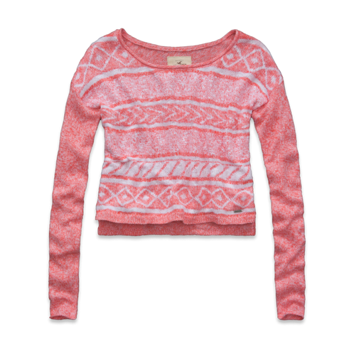 Girls Lobster Point Sweater
