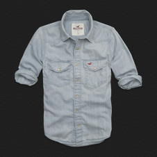 Boys Oceanside Denim Shirt
