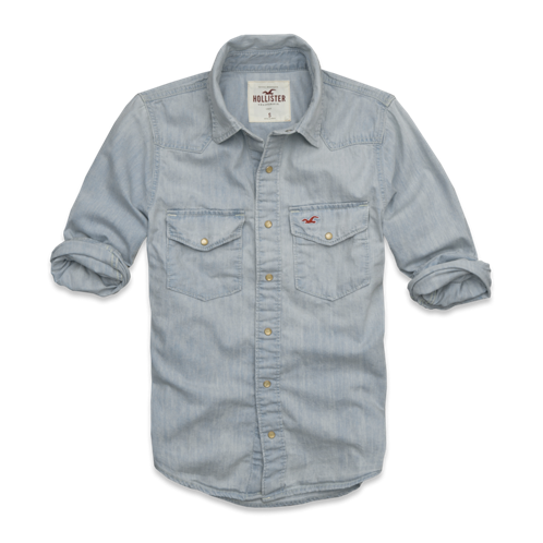 Guys Oceanside Denim Shirt