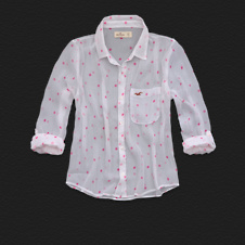 Girls Desert Springs Chiffon Shirt