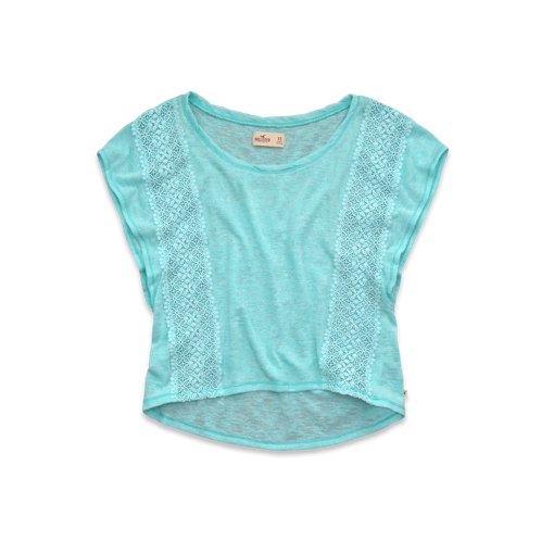 Girls Wipeout Beach Top