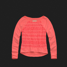 Girls Dockweiler Beach Sweatshirt