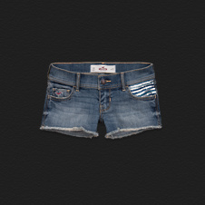 Girls Hollister Low-Rise Short-Shorts