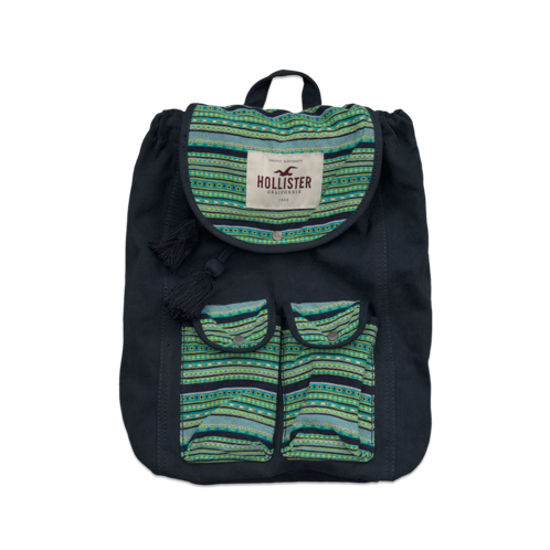Girls Colorful So Cal Backpack