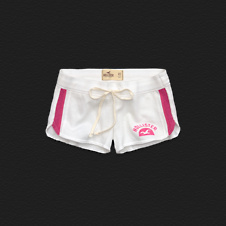 Girls Hollister Curved Hem Short-Shorts