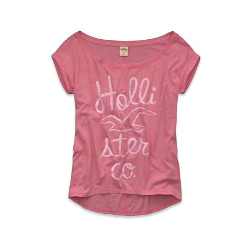 Girls Beach Street Shine T-Shirt