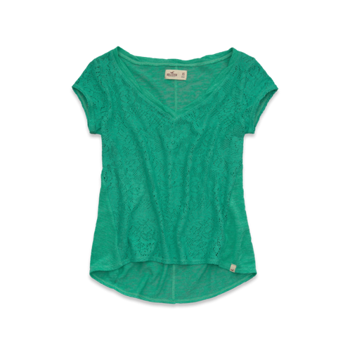 Girls Brooks Beach Lace Top