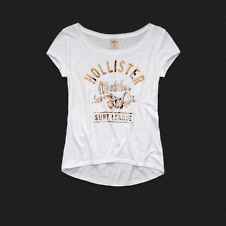 Girls Manhattan Beach Shine Tee