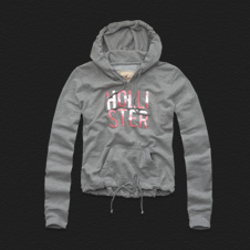 Girls Zuma Beach Shine Hoodie