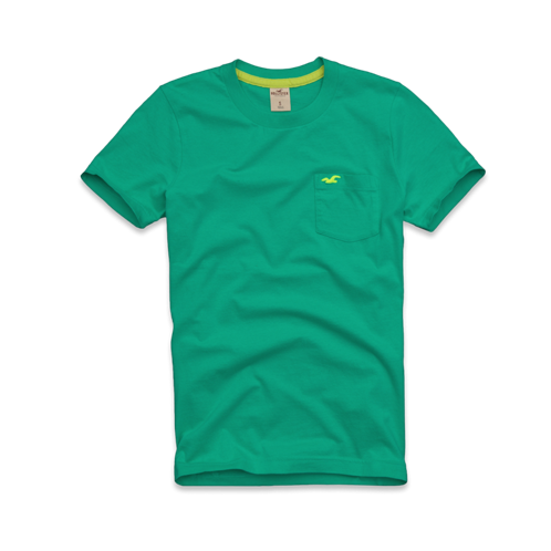 Guys Victoria Beach Pocket T-Shirt