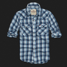 Boys Pelican Point Twill Shirt