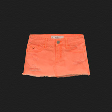Girls Hollister Denim Skirt