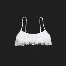 Girls Brooks Street Swim Top