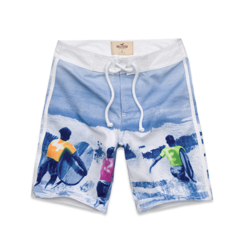 Guys Belmont Shore Swim Shorts