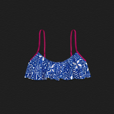 Girls Lake Hodges Swim Top