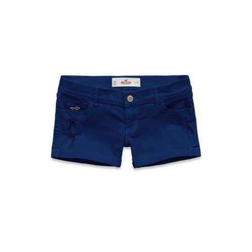 Girls Hollister Low Rise Midi Length Short-Shorts
