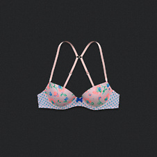Girls Lightly Lined Demi Bra