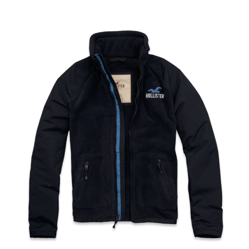 Guys Hollister Fleece Beach Brawler Jacket
