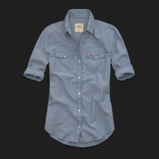 Girls Santa Monica Chambray Shirt