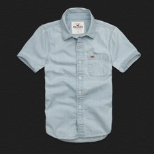 Boys PC Highway Denim Shirt
