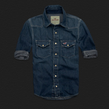 Boys Avalon Place Denim Shirt