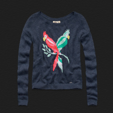 Girls Jack Creek Intarsia Sweater