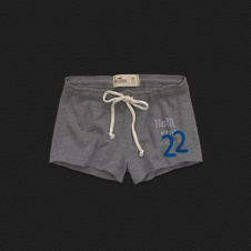 Girls Hollister Cut-Off Hem Short-Shorts