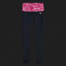 Girls Hollister Yoga Leggings