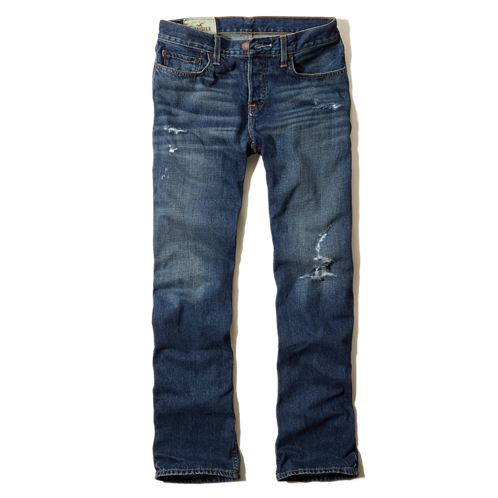 Guys Hollister Boot Jeans