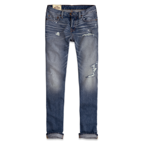 Guys Hollister Slim Straight Jeans