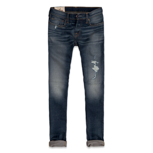 Guys Hollister Super Skinny Jeans