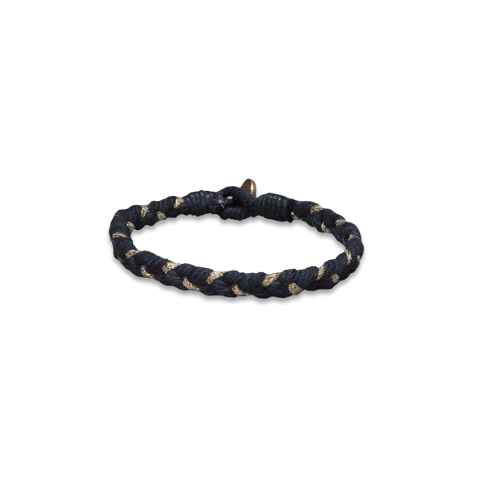 Girls Braided Shine Bracelet