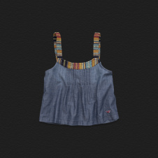 Girls Boat Canyon Chambray Cami