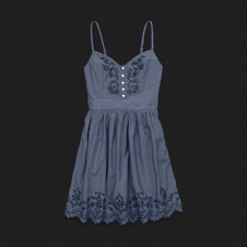 Girls Bay Street Chambray Dress