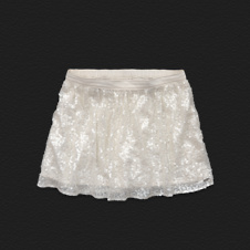 Girls Hollister Chiffon Shine Skirt