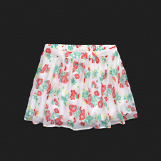 Girls Hollister Chiffon Skirt