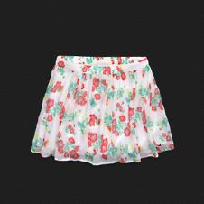 Girls Hollister Chiffon Skirt