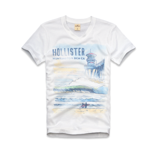 Guys El Porto Beach T-Shirt