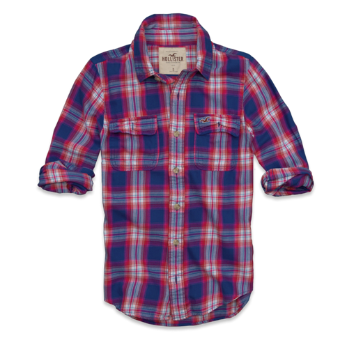 Girls North Jetty Twill Shirt