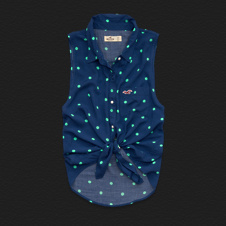 Girls Pebbly Beach Shirt