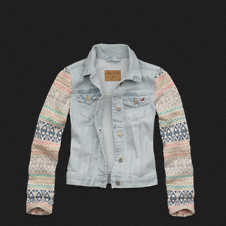 Girls La Piedra Denim Jacket