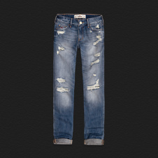 Girls Hollister Boyfriend Jeans