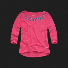 Girls Harbor Beach Sweatshirt