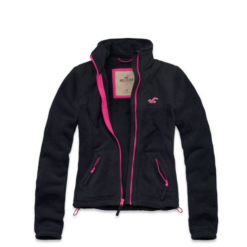 Girls Hollister So Cal Oceanside Fleece Jacket