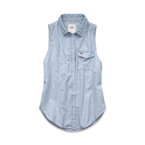 Girls Grandview Chambray Shirt