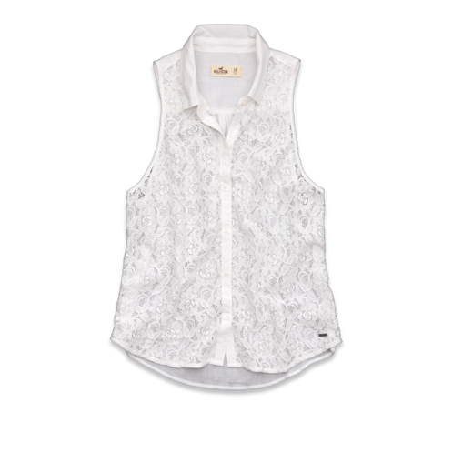 Girls Hammerland Lace Shirt