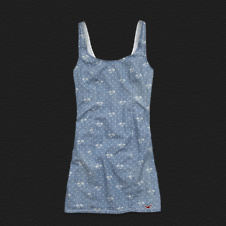 Girls Tourmaline Chambray Dress