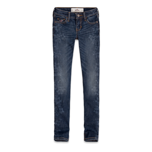 Girls Hollister Super Skinny Ankle Jeans