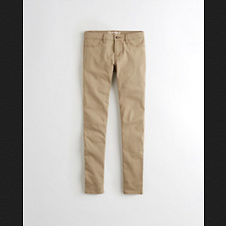 Girls Hollister Super Skinny Chinos