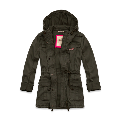 Girls Pacific Coast Parka